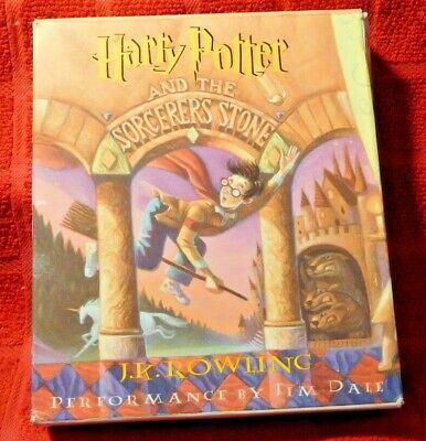 HARRY POTTER and the SORCERER'S - Seven (7) CD Unabridged 1999 Read By Jim Dale