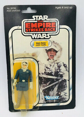 Vintage Star Wars Han Solo Hoth Outfit On Empire Strikes Back 41 Card MOC No Pop