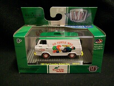 M2 Machines Turtle Wax 1965 Ford Econoline Delivery Van Limited Edition.