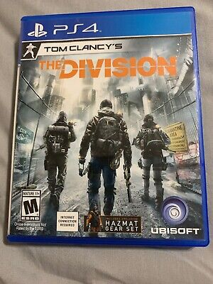 Tom Clancy's The Division 1 (PlayStation 4, 2016)