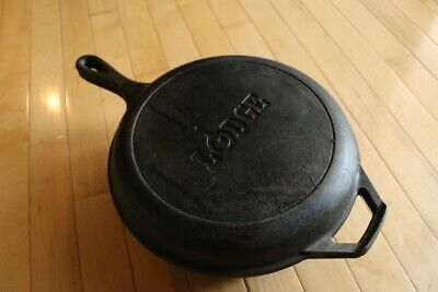 Lodge Cast Iron Fryer With Usable Skillet Lid