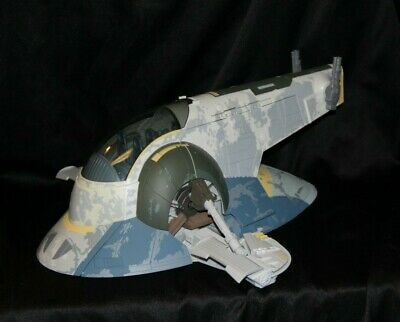 Star Wars Rise Of Boba Fett Slave 1 Vehicle  Hasbro  2010   20 inches Long