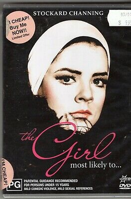 The Girl Most Likely To Stockard Channing Aussie DVD Region 4 new and sealed