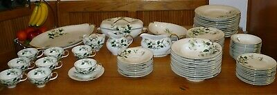 Meito Norleans China Occupied Japan Livonia Dogwood 83 Piece Set WOW!