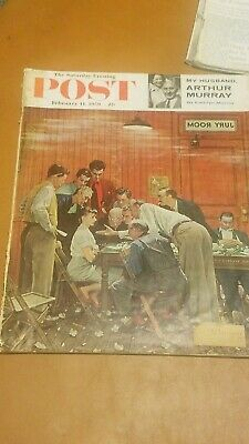 Norman Rockwell The Saturday Evening Post, February 14, 1959 Jury Room Court