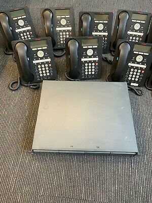 AVAYA IP office phone systems (10 units) used, great condition!
