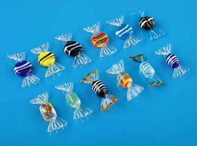 12x Vintage Murano Glass Sweets Wedding Party Candy Christmas Decorations Gift