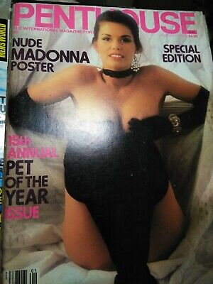 Penthouse Nude Madonna Poster 15th annual Pet of The Year Special Edition