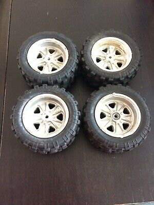 Vintage Kyosho Rocky Wheels and Tires