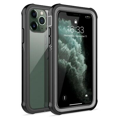 Heavy Duty Full Clear Shockproof Rugged Hard Case Cover For iPhone 11 XS XR 7 8