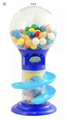 Coin Bubble Gum Machine Slide Sweet Piggy Bank Gumball Candy Dispenser Xmas Gift