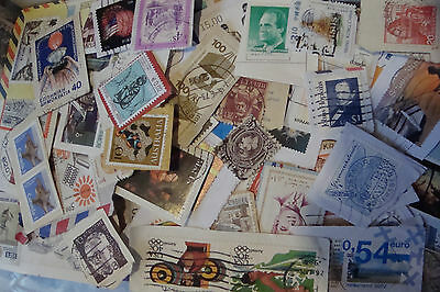 500~Grams World Charity Kiloware Stamps~on paper~good variety~ UK Seller
