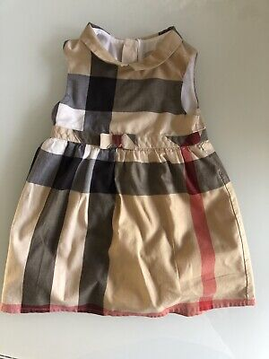 Authentic Burberry Dress 9-12 Months