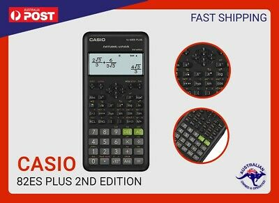 BRAND NEW GENUINE Casio FX82AU / ES PLUS Scientific Calculator FX-82ES Plus new