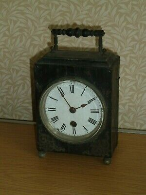 Antique Japy wooden mantel clock c1880 for spares