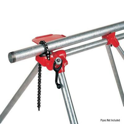 RIDGID 1/8 - 5 In Model 560 Top Screw Stand Chain Vise Threading Cutting Holder
