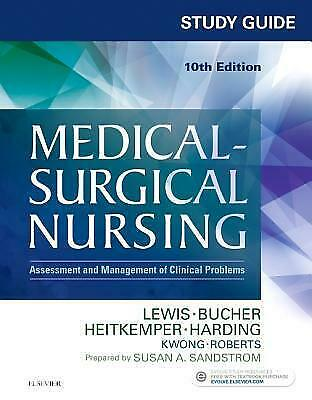 Medical-Surgical Nursing Study Guide 10th Edition[E- b o o k] NEW