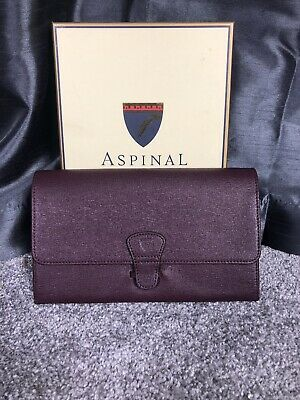 Brand New Aspinal Of London Travel Wallet #A