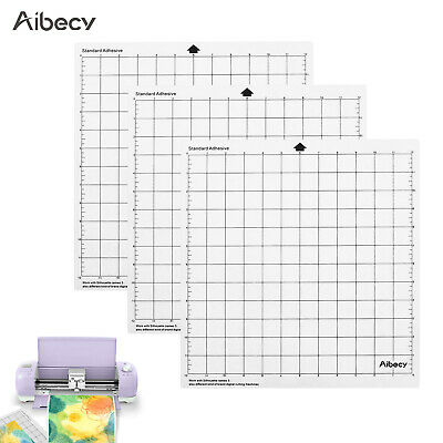 "Aibecy Cutting Pad 12"" Measuring Grid Translucent PP Material Adhesive Mat L5U5"