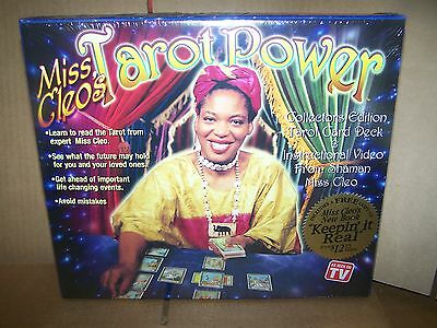 Miss Cleo's Tarot Power - Collectors Edition - AS SEEN ON TV- NEW IN BOX