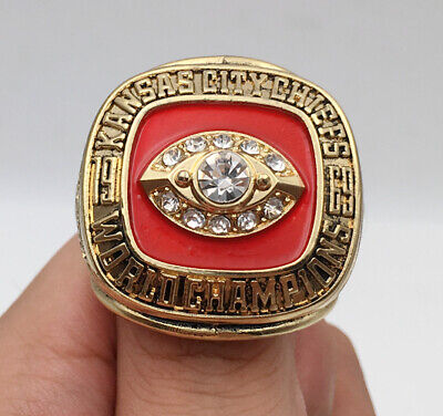 1969 Kansas City Chiefs Championship Ring Great Gift !!!