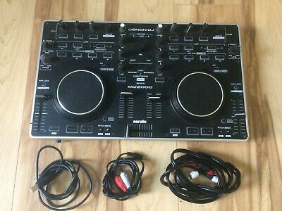 Denon DJ Controller MC2000 - used w/ cables