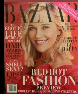 Reese Witherspoon - Harper's Bazaar Magazine November 2019 No Mailling Lables