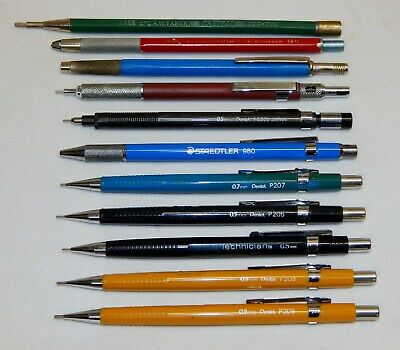 Lot of vintage Mechanical Pencils