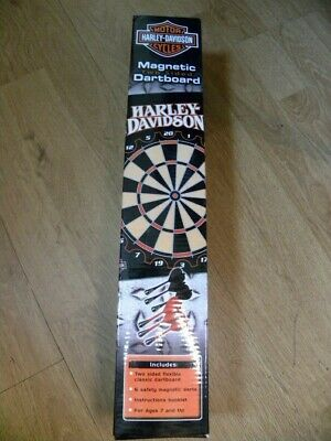 Harley-Davidson® Magnetic 2 Sided Dartboard 2006 Edition - NEW