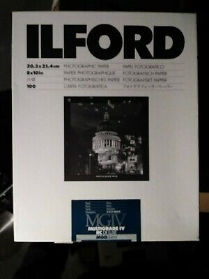 "Ilford Multigrade IV RC DeLuxe Paper (Pearl, 8 x 10"", 90 Sheets)"