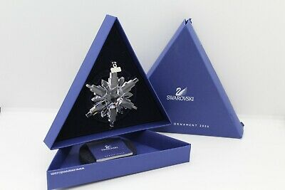 Swarovski Crystal Christmas Ornament Star/Snowflake 2006 - MINT