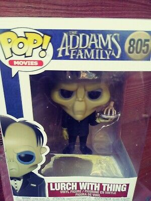 Funko Pop! Lurch With Thing #805 New - The Addams Family Series