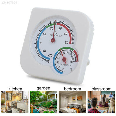 4C93 2 Color Digital Thermometer Indoor Hygrometer Greenhouse Home Supplies