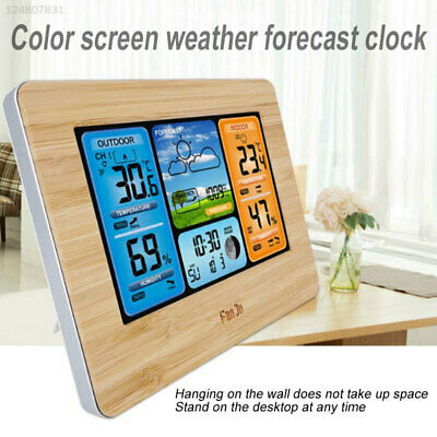 TS-3310 Wireless Weather Station Digital Alarm Clock Livingroom Office Creative