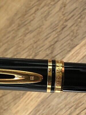 "Vintage 1980s Waterman ""Le Man 200"" Ideal Fountain Pen Gold trim - 18k 750 nib"