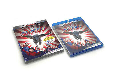 Dumbo Blu-ray, DVD, Digital HD w/Slipcover Brand NEW & Sealed Free Shipping