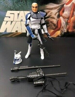 Star Wars The Clone Wars Captain Rex Action Figure good condition, used.