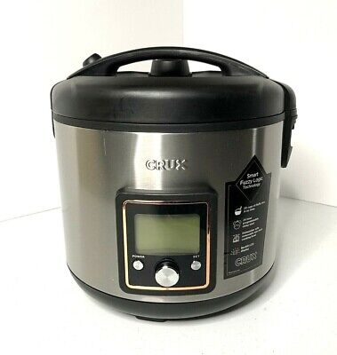 20 Cup Programmable Rice Cooker and Steamer 5 Quart