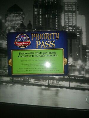 Alton Towers Fast Track / Priority Pass