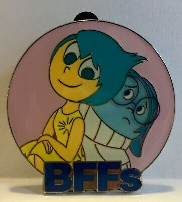 JOY and SADNESS 2017 Disney Parks Exclusive BFF's Mystery Pin Inside Out
