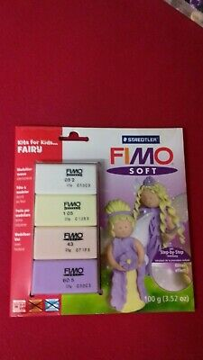 "Staedtler Fimo Soft Materialpackung Modelliermasse Kreativset ""Fairy"""