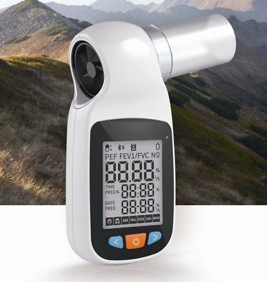 CONTEC SP70B Handheld Digital Spirometer Pulmonary Function Spirometry,Bluetooth