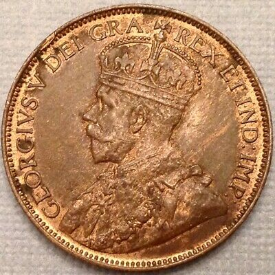 ~1912  Canada George V Large Cent