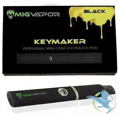 Keymaker Black Edition Ceramic Wax Thick Oil Concentrate Pen By Mig