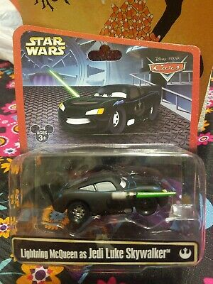 Lightning McQueen as Jedi Luke Skywalker ~  Star Wars ~ Disney Parks ~Pixar Cars