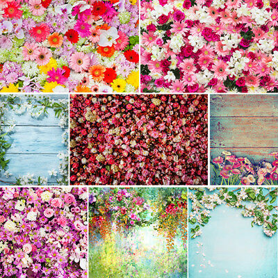 Blossom Rose Flowers Backdrops Wedding Birthday Wall Baby Photography Background