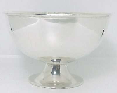 Rare Australian large sterling solid silver bowl ,hallmarked