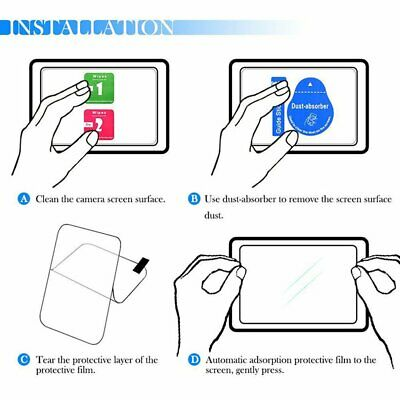 Tempered glass screen protector Glass for Sony A7II A7III A9 A9 A77 / A7R MT