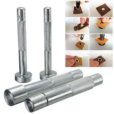 Eyelet Punch Tool Hole Cutter Set For Leather Craft Clothing Grommet Setter  OZ
