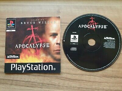 Apocalypse Sony Playstation 1 Game Pal. Tested And Working. Disc And Manual Only